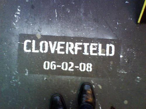 Cloverfield promo