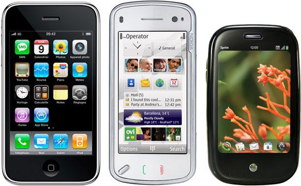 iphone-3gs-nokia-n97-palm-pre