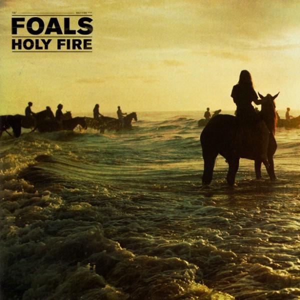 la pochette d'Holy Fire