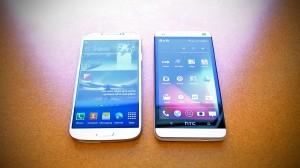 HTC One ou Samsung Galaxy S4 : la comparaison en vidéo