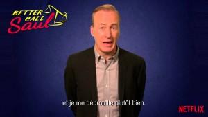 Better Call Saul : Netflix France fait dans l'instantané