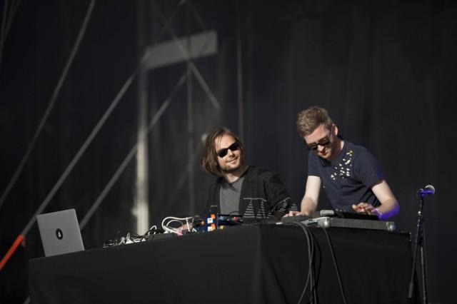 Les islandais de Kiasmos étaient la révélation du festival. Crédit : Nicolas Joubard