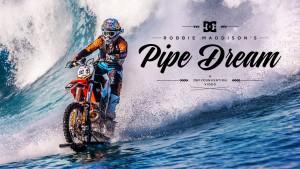 Du surf en motocross avec Robbie Maddison et DC Shoes