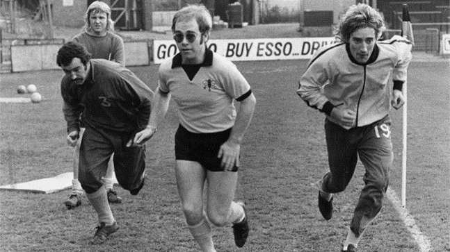 Elton John - Président du club de foot de Watford