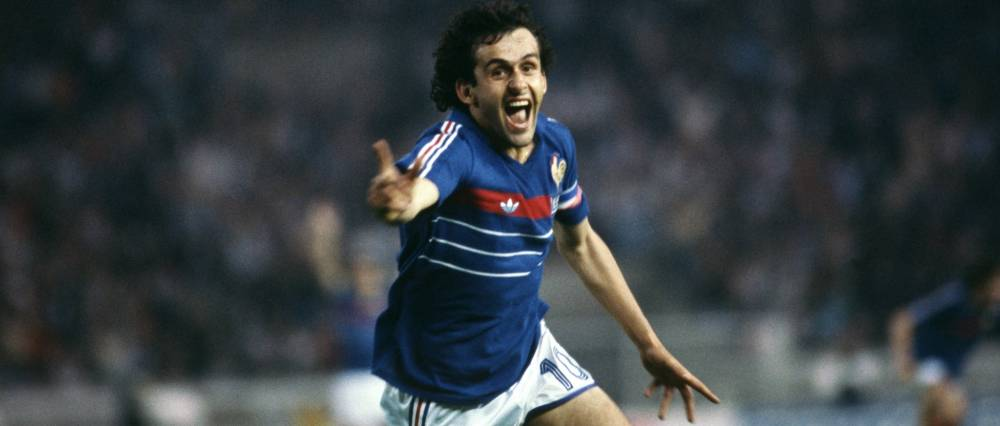 Michel Platini dans ses oeuvres