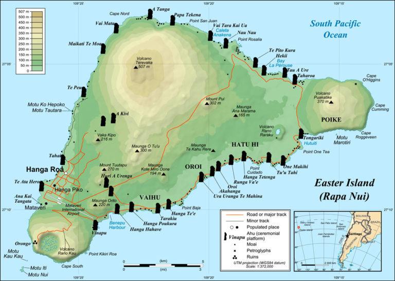 L'île de Pâques - Easter Island